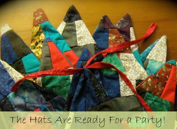fairy patchwork hats