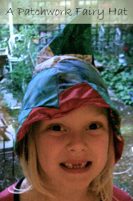 kid with fairy wizard hat