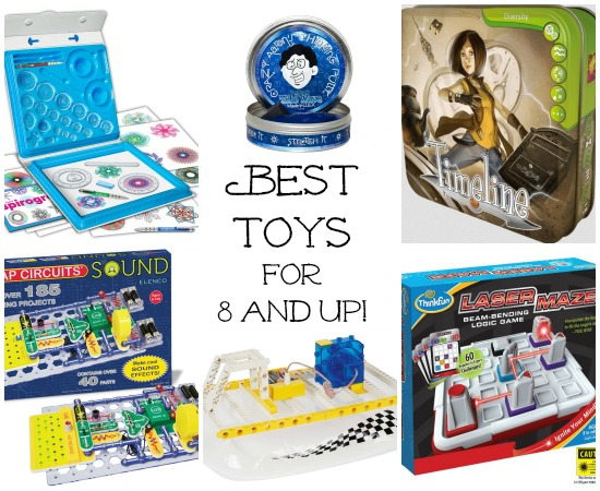 Best Toys for 8 and up