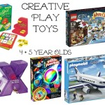Creative Play Toys for 4 and 5 year olds