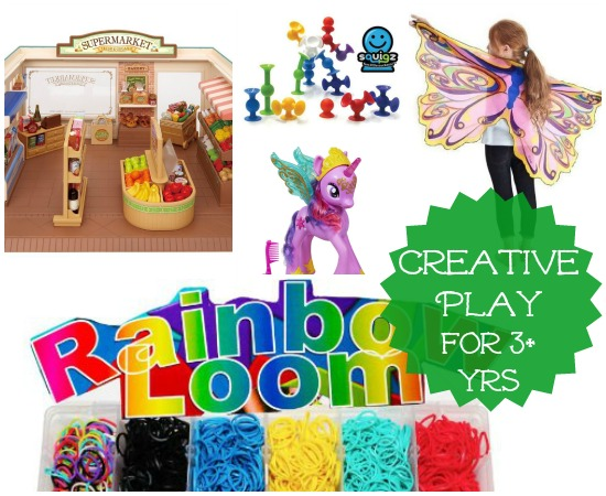 Creative Play Toys for Three Years and Up