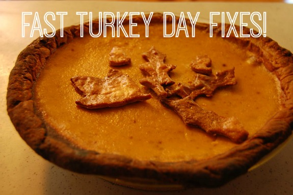 Fast Turkey Day Fixes for Cooking Mishaps