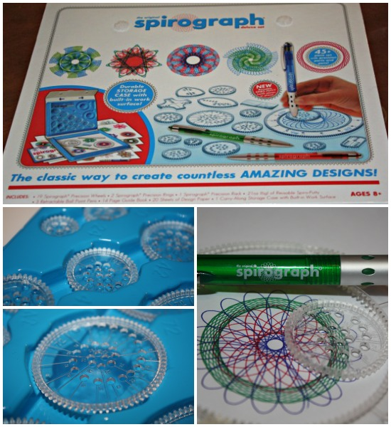 Playing with the spirograph