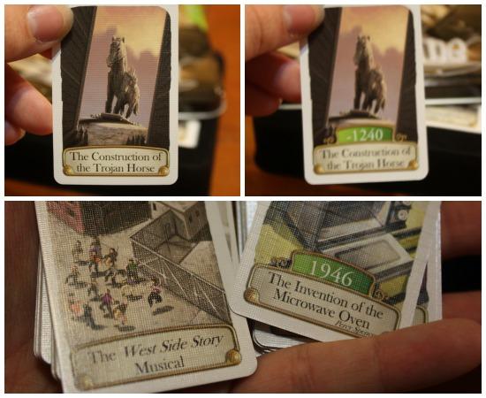 Timeline History Cards Game