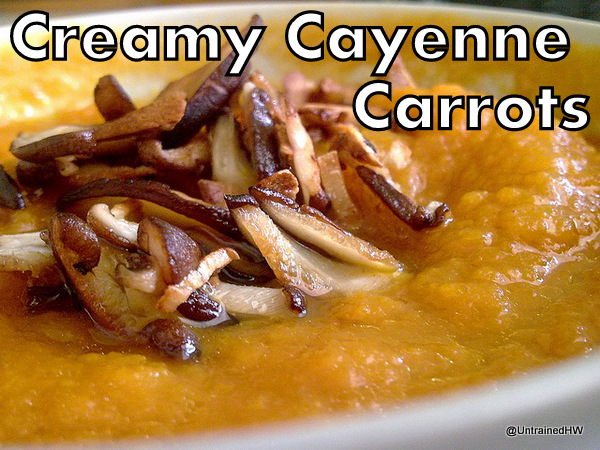 Creamy Cayenne Carrots Recipe