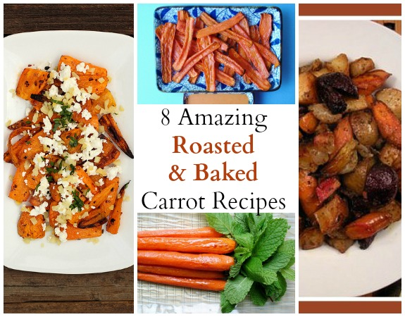 8 Amazing Roasted and Baked Carrot Recipes