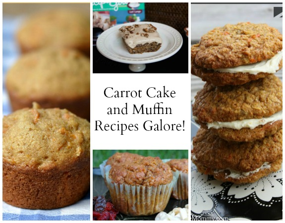 Carrot Cake and Muffin Recipes Galore