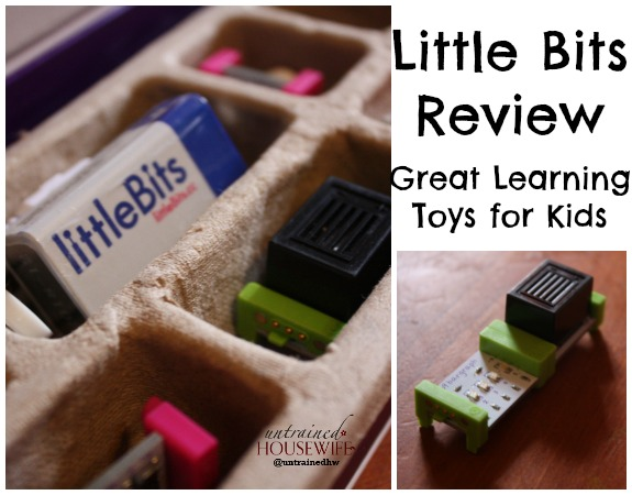 Little Bits Review Great Learning Toys for Kids