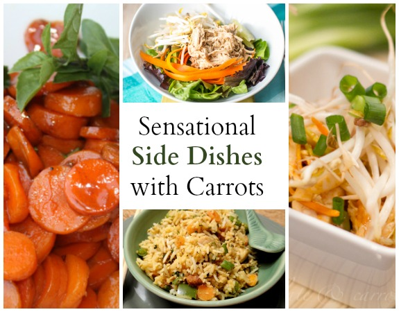 Sensational Side Dishes Using Carrots