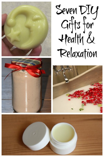 Seven DIY Gifts for Health and Relaxation