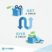 Get a smile, Give a smile Invisalign Sweepstakes