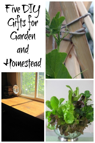 Five DIY gifts for gardeners and homesteaders