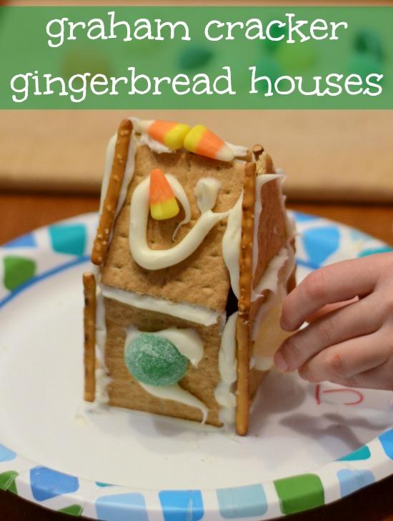 graham cracker gingerbread houses