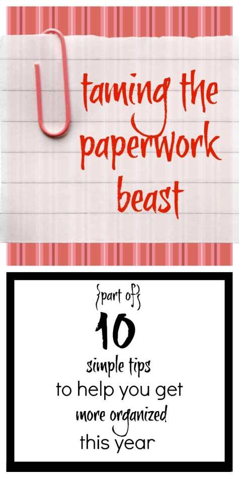 Taming the Paperwork Beast Collage