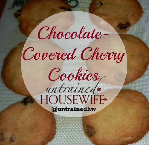 Chocolate Covered Cherry Cookies II Recipe — Dishmaps