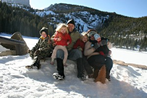 family pic in colorado