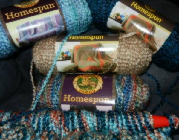 Favorite yarn for an easy afghan