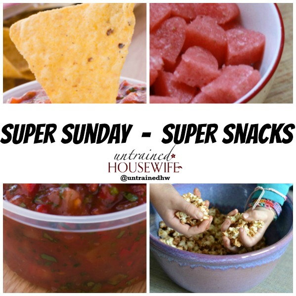 (Mostly) Healthy and Yummy Superbowl Snacks