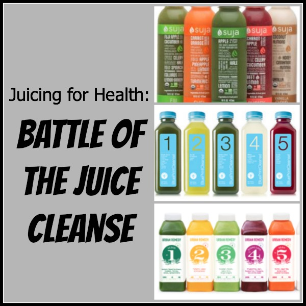 The Battle of the Juice Cleanse