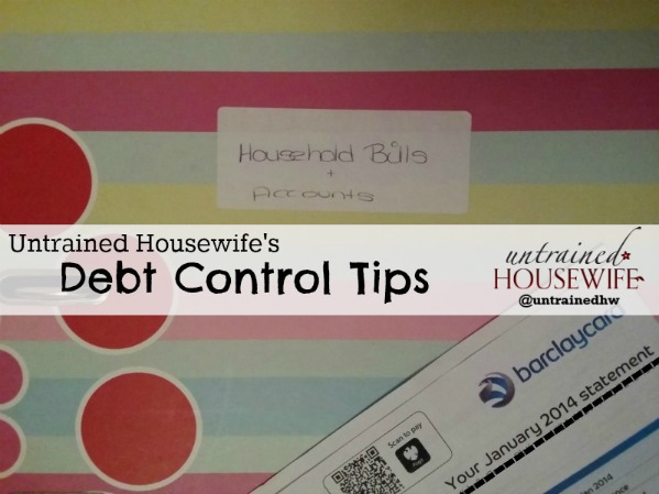 How to get your debt under control