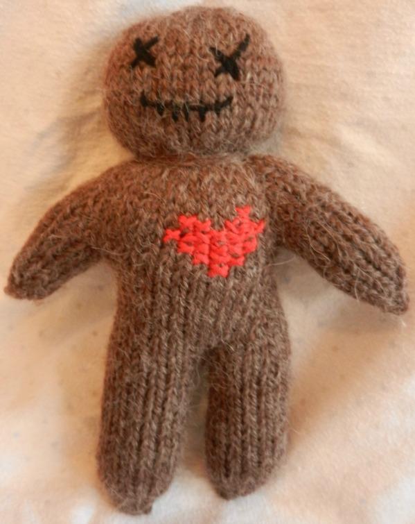 Voodoo love puppet