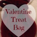 Knitted treat bag