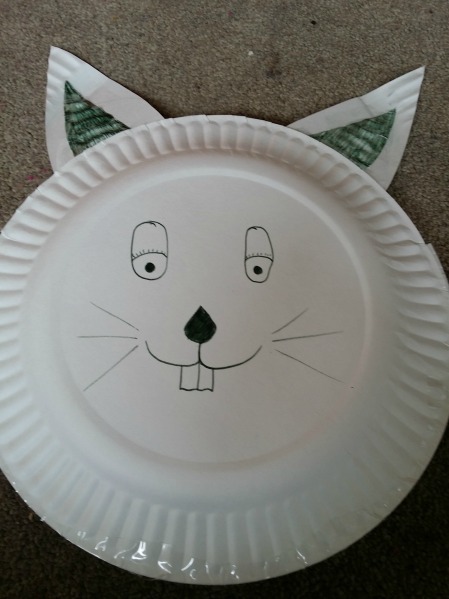 Paper Plate Craft & DIY Paper Plate Animal Baskets