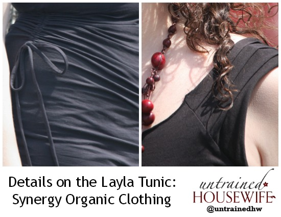 Details on Layla Tunic from Synergy Organic Clothing