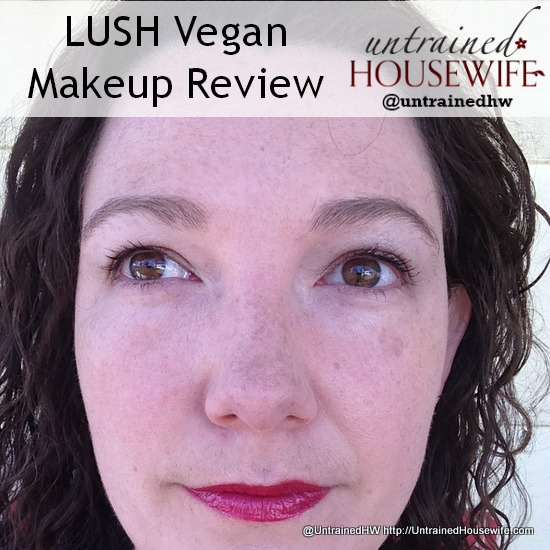 LUSH vegan makeup review on Untrained Housewife