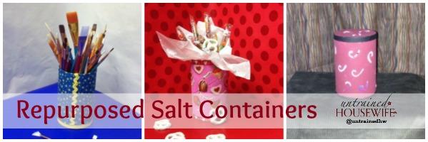 Repurposed Salt Containers