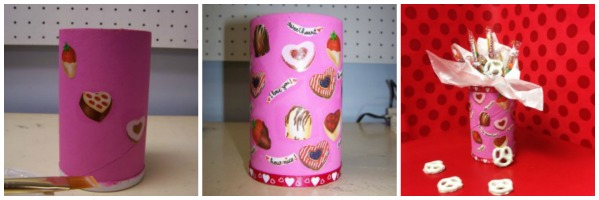 Repurposed Salt Container Candy Holders